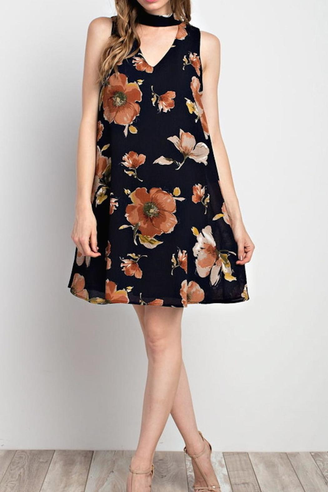 Mittoshop Floral Shift Dress - Main Image