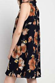 Mittoshop Floral Shift Dress - Front full body