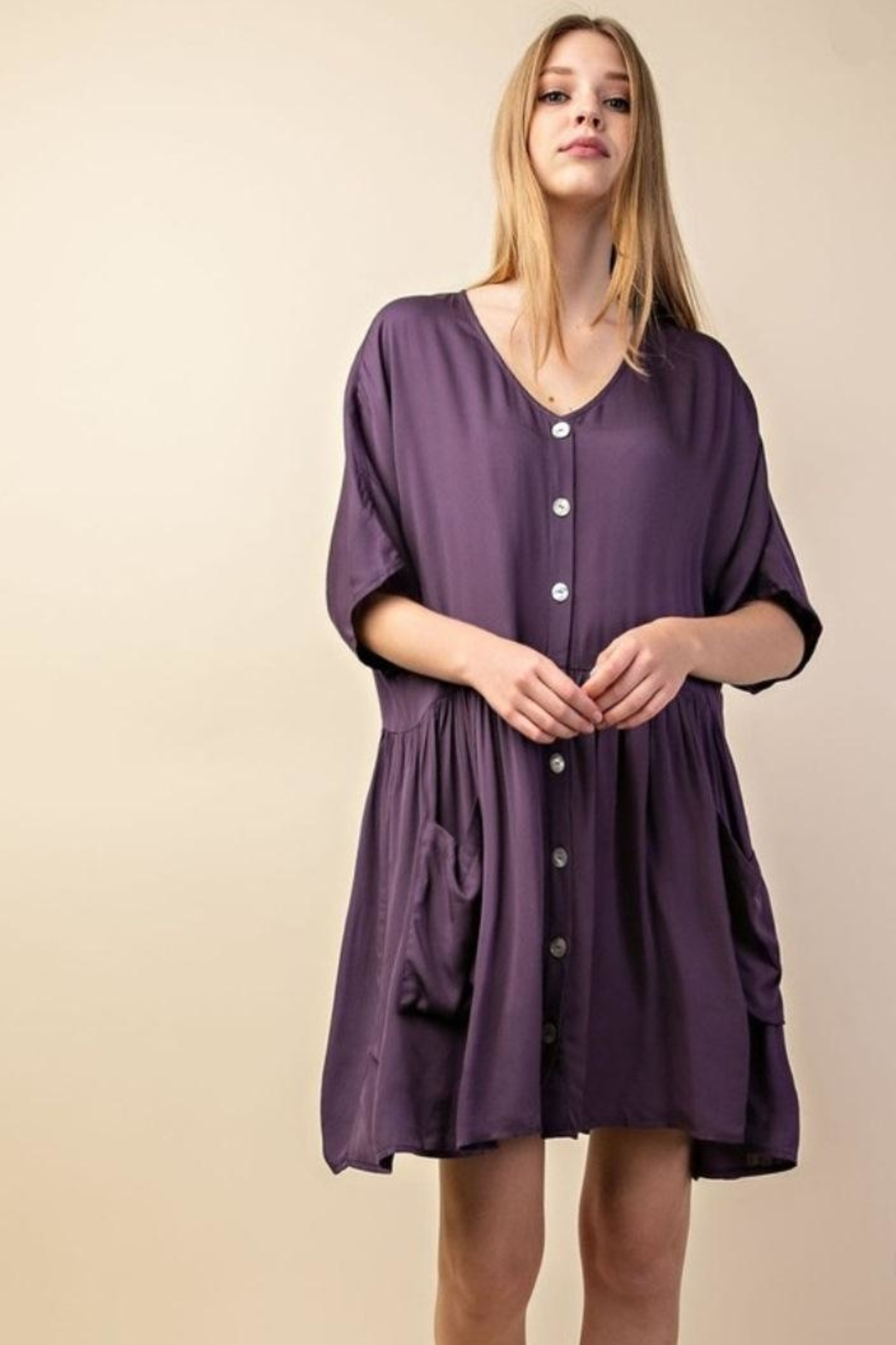 Mittoshop Flounce Dress - Front Full Image