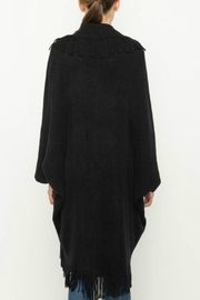 Mittoshop Fringed Cocoon Cardigan - Side cropped