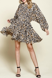 Mittoshop Gemma Leopard Dress - Product Mini Image