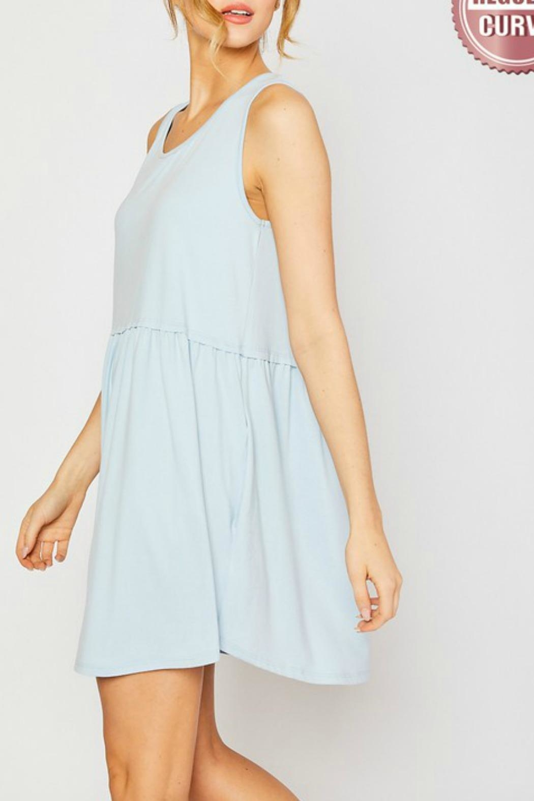 Mittoshop Hazel Babydoll Dress - Side Cropped Image