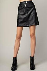 Mittoshop Hazel Faux-Leather Skirt - Product Mini Image