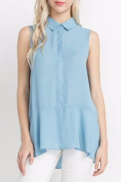 Mittoshop High Low Sleeveless Blouse - Product List Image