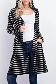 Mittoshop Hooded Cardigan - Front full body