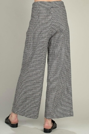Mittoshop Houndstooth Wide-Leg Pant - Front full body