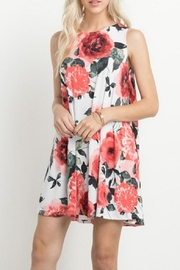 Mittoshop Ivory Floral Dress - Product Mini Image