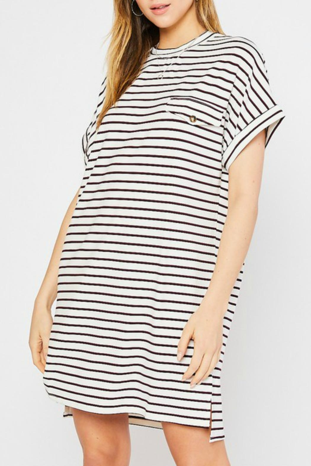Mittoshop Kyle Tshirt Dress - Side Cropped Image