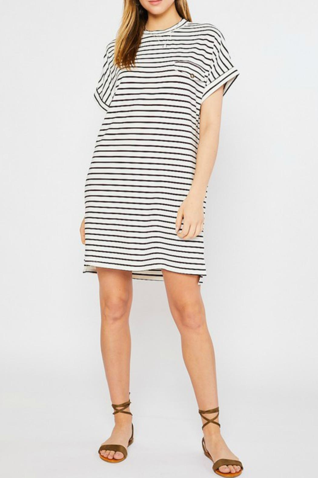 Mittoshop Kyle Tshirt Dress - Front Cropped Image