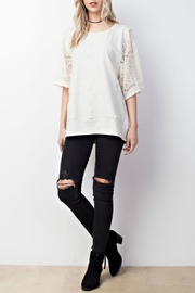 Mittoshop Lace Kimono Sleeve - Front cropped