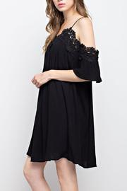 Mittoshop Lace Open-Shoulder Dress - Front full body