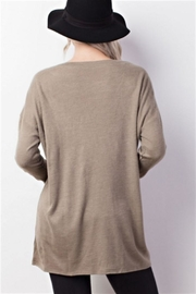 Mittoshop Lace Up Top - Front full body