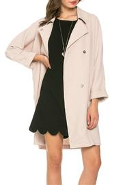 Mittoshop Longline Collared Jacket - Product Mini Image