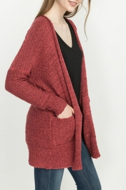 Mittoshop Maddies Chunky Cardigan - Back cropped