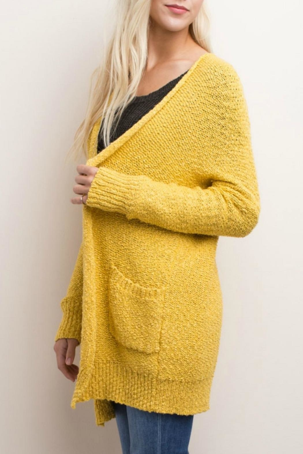 Mittoshop Maddies Chunky Cardigan - Front Full Image