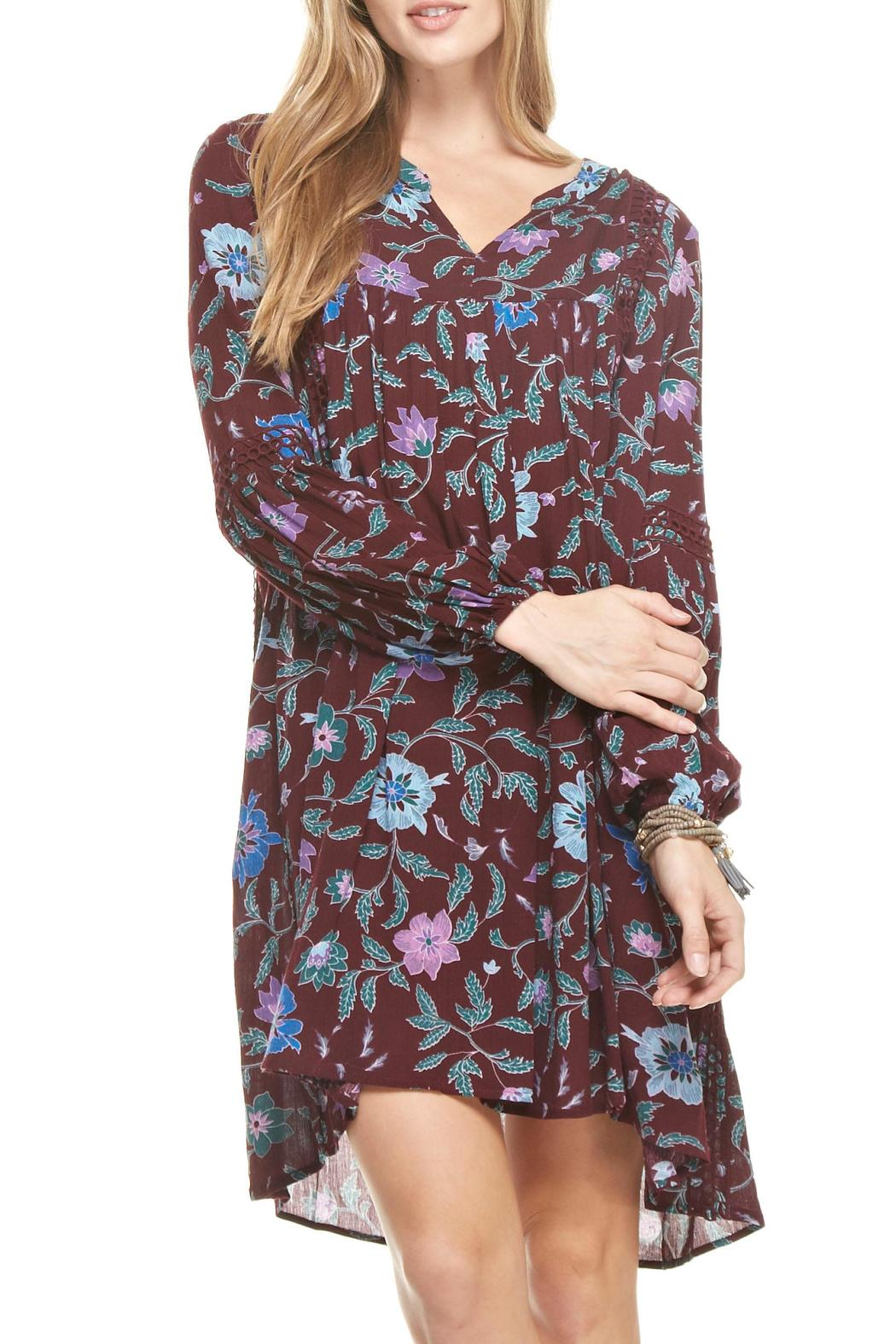 mittoshop merlot baby doll dress from charleston by apricot