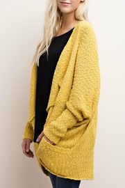 Mittoshop Mid-Length Dolman Cardigan - Front full body