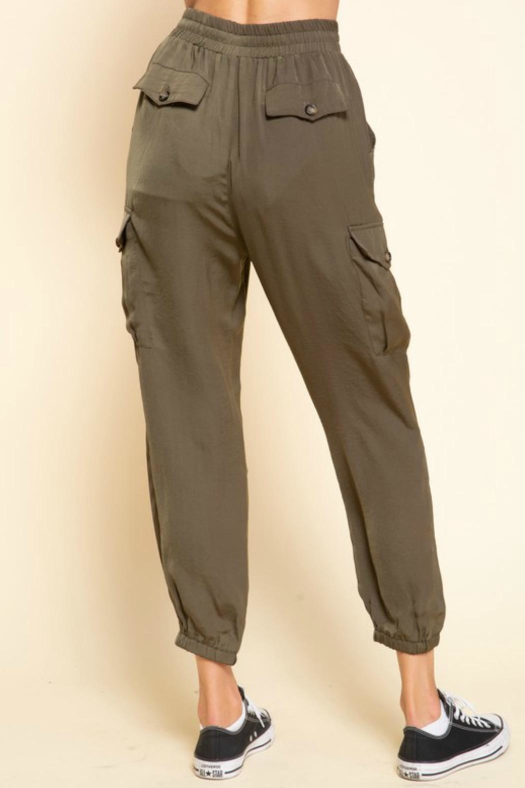 Mittoshop Mimi Cargo Joggers - Side Cropped Image
