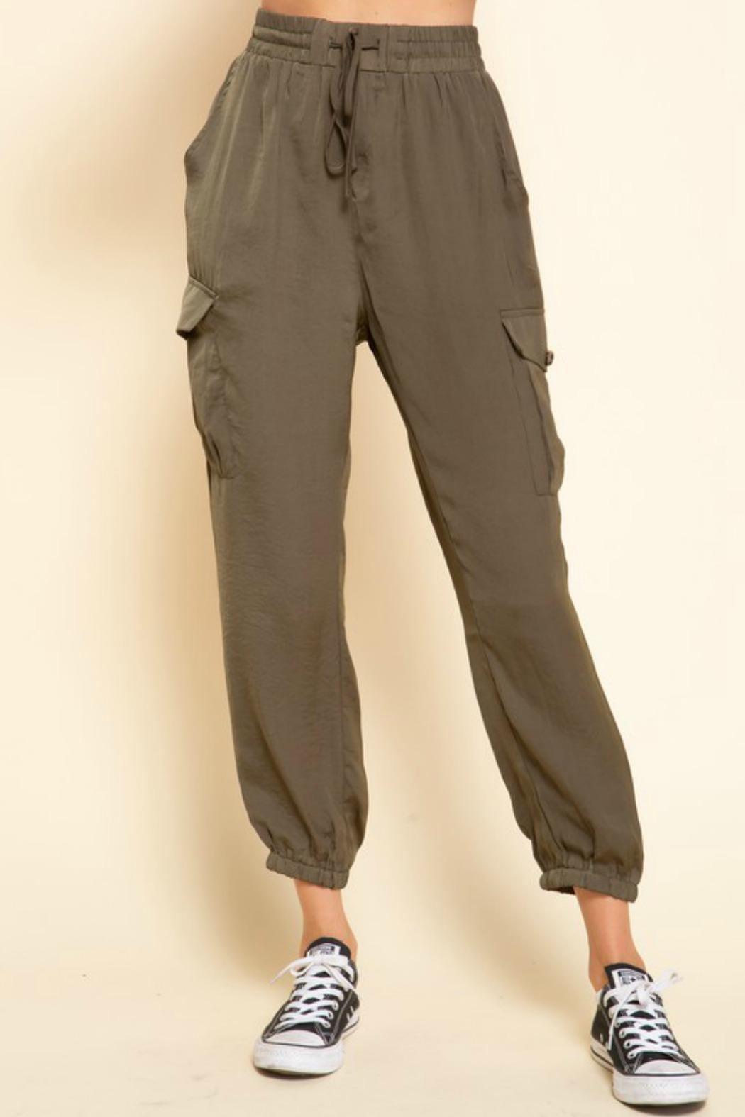 Mittoshop Mimi Cargo Joggers - Front Full Image