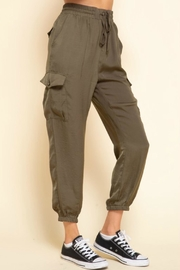 Mittoshop Mimi Cargo Joggers - Back cropped