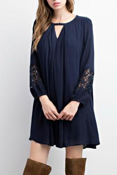 Shoptiques Product: Navy Flowy Tunic
