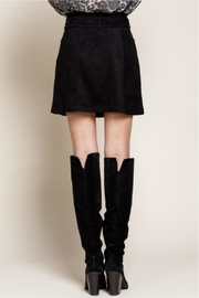 Mittoshop Nothing Better Than Suede Skirt - Back cropped