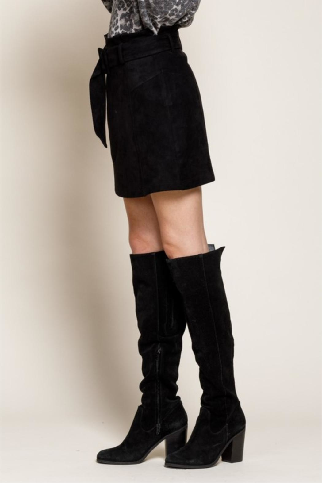 Mittoshop Nothing Better Than Suede Skirt - Side Cropped Image