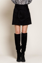 Mittoshop Nothing Better Than Suede Skirt - Front full body