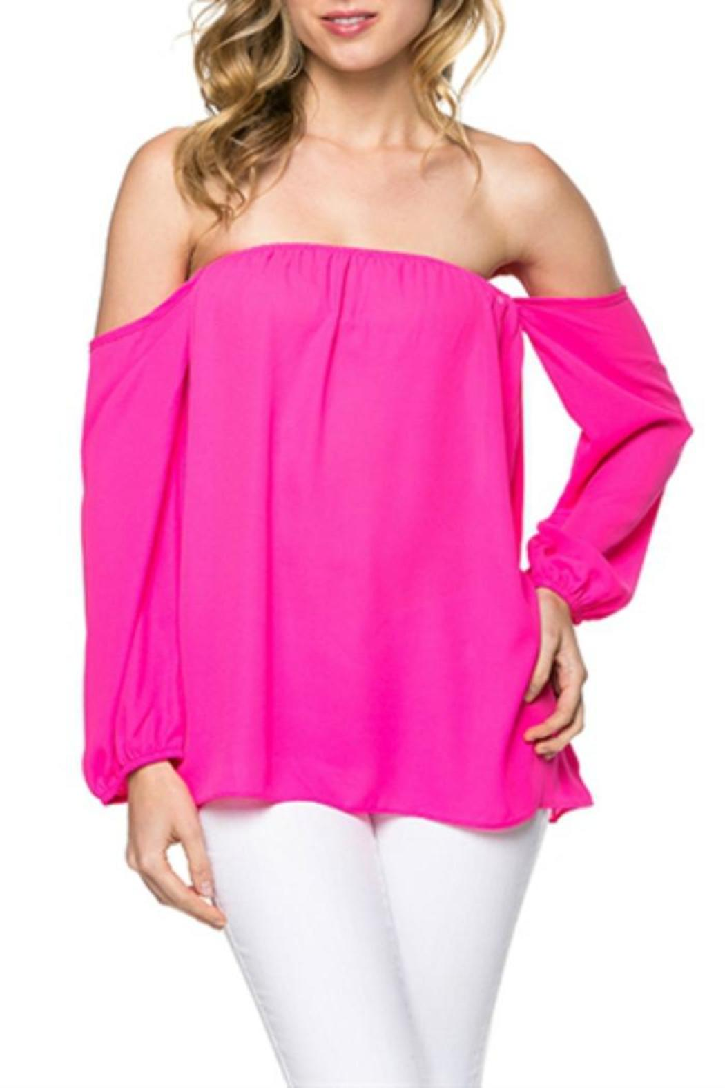 23472704739 Mittoshop Off Shoulder Blouse from Texas by Ooh La La Boutique ...