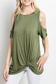 Mittoshop Olive Twist Top - Product Mini Image