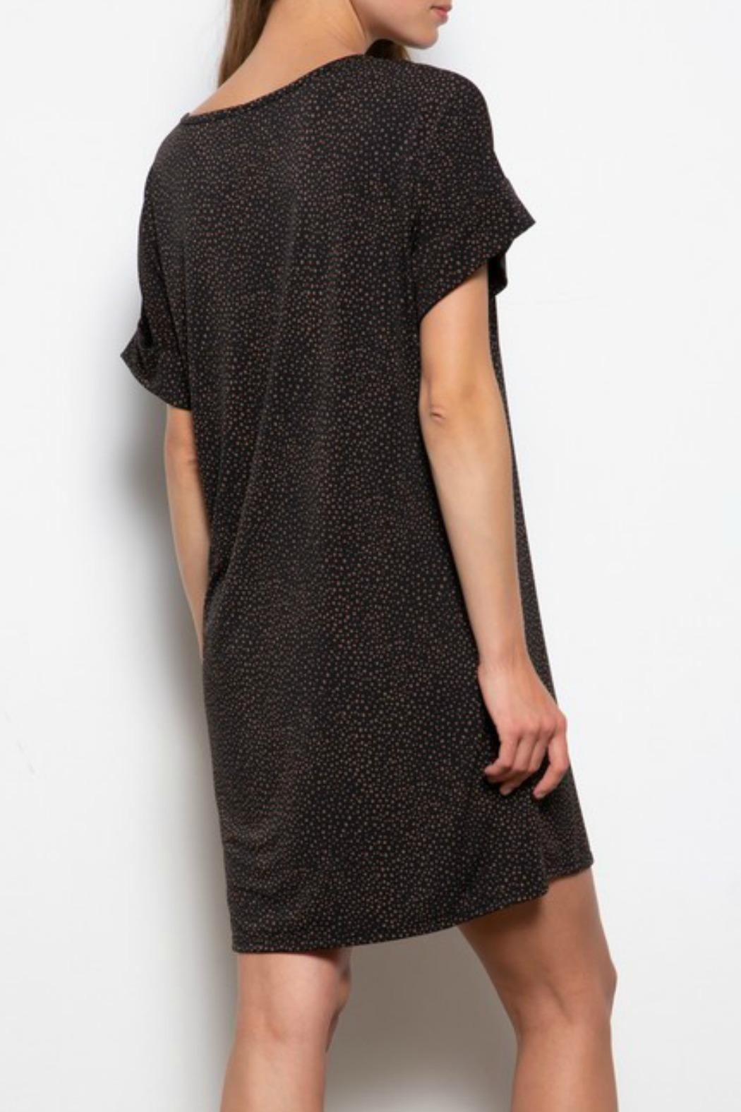 Mittoshop Olivia Tshirt Dress - Back Cropped Image
