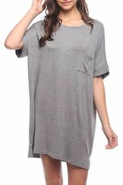 Mittoshop Over-Sized T-Shirt Dress - Front full body