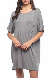 Mittoshop Over-Sized T-Shirt Dress - Front cropped