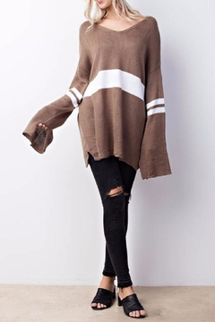 Shoptiques Product: Oversized Brown Sweater
