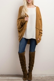 Mittoshop Oversized Knit Cardigan - Front cropped