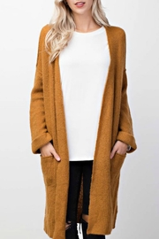 Mittoshop Oversized Long Cardigan - Front cropped