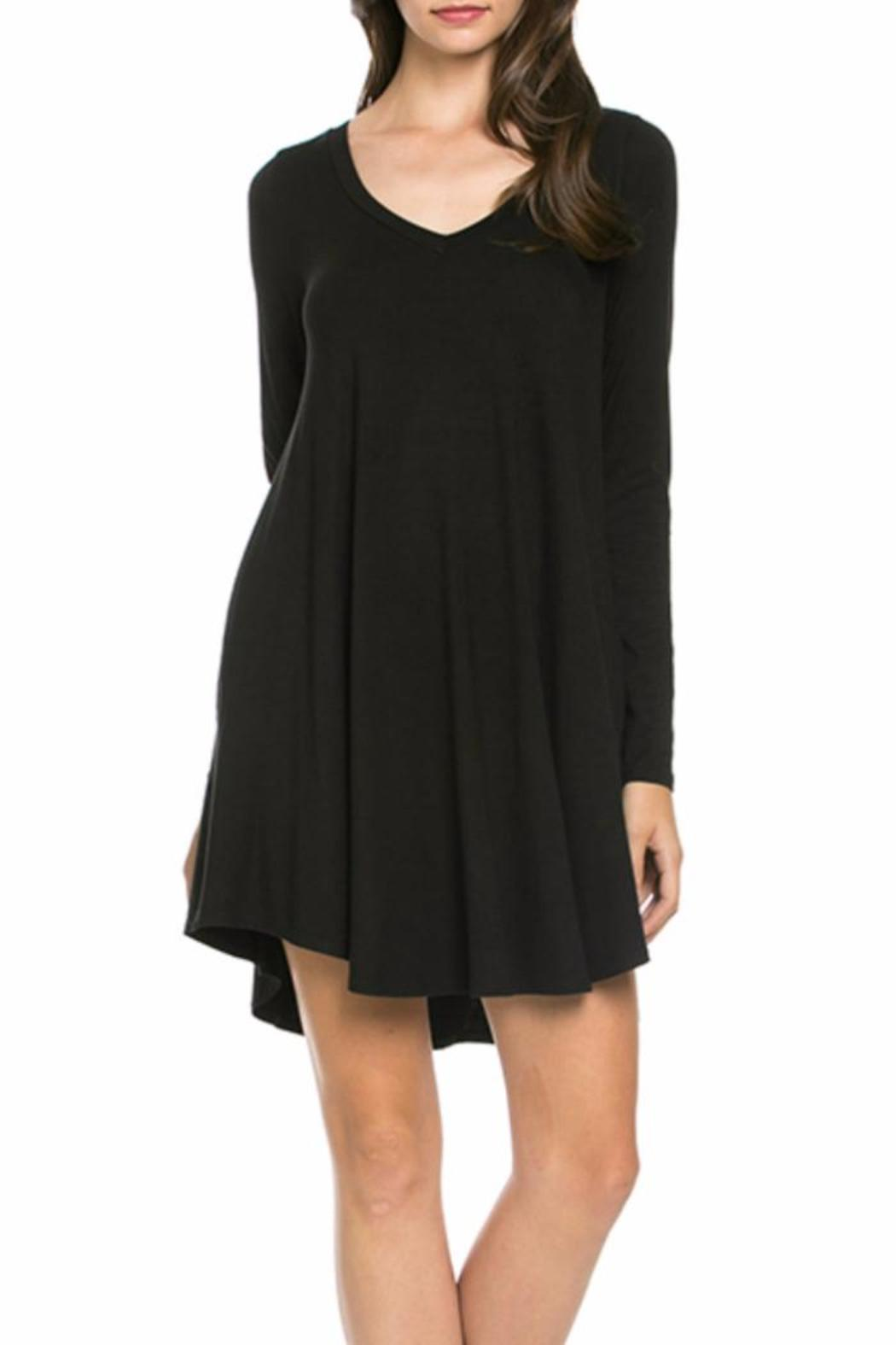 Mittoshop Perfect Pockets V-Neck Dress - Main Image