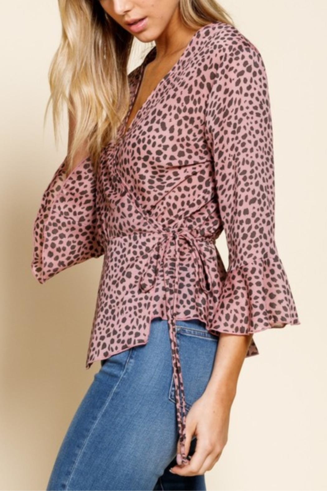 Mittoshop Pink Panther Top - Back Cropped Image