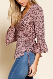 Mittoshop Pink Panther Top - Back cropped