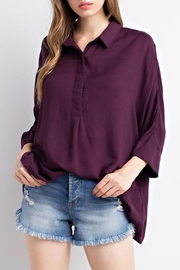 Mittoshop Plum Dolman Shirt - Product Mini Image