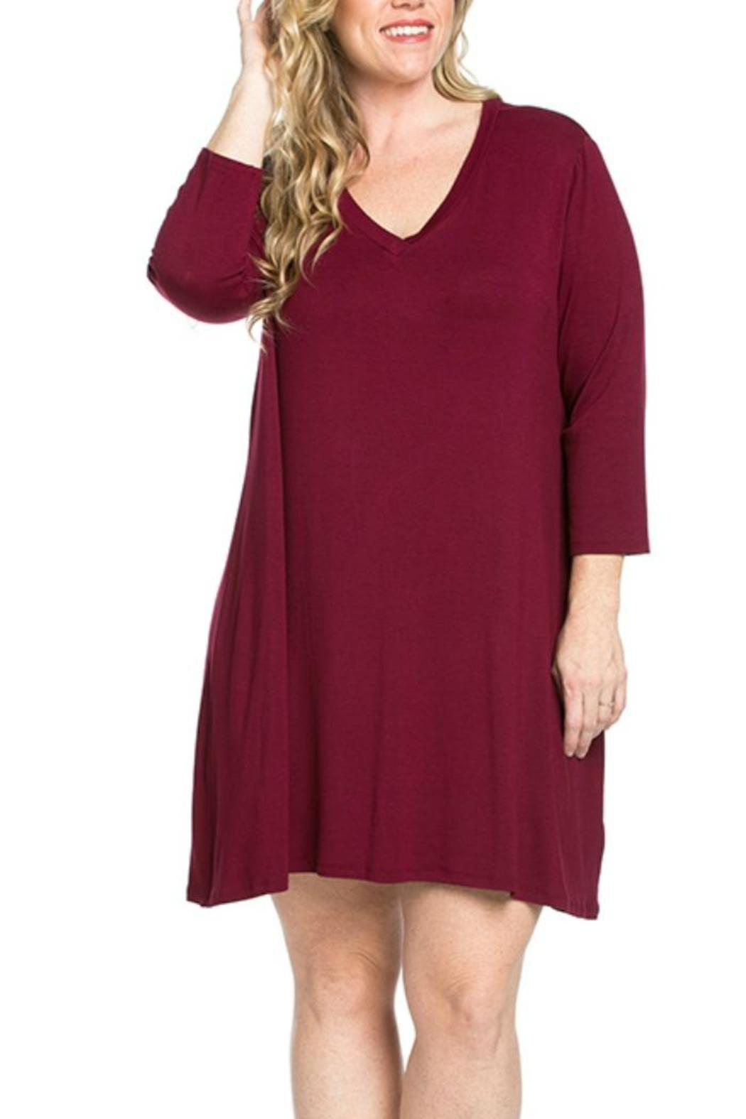 mittoshop plus size tunic-dress from oklahoma by sassy sisters