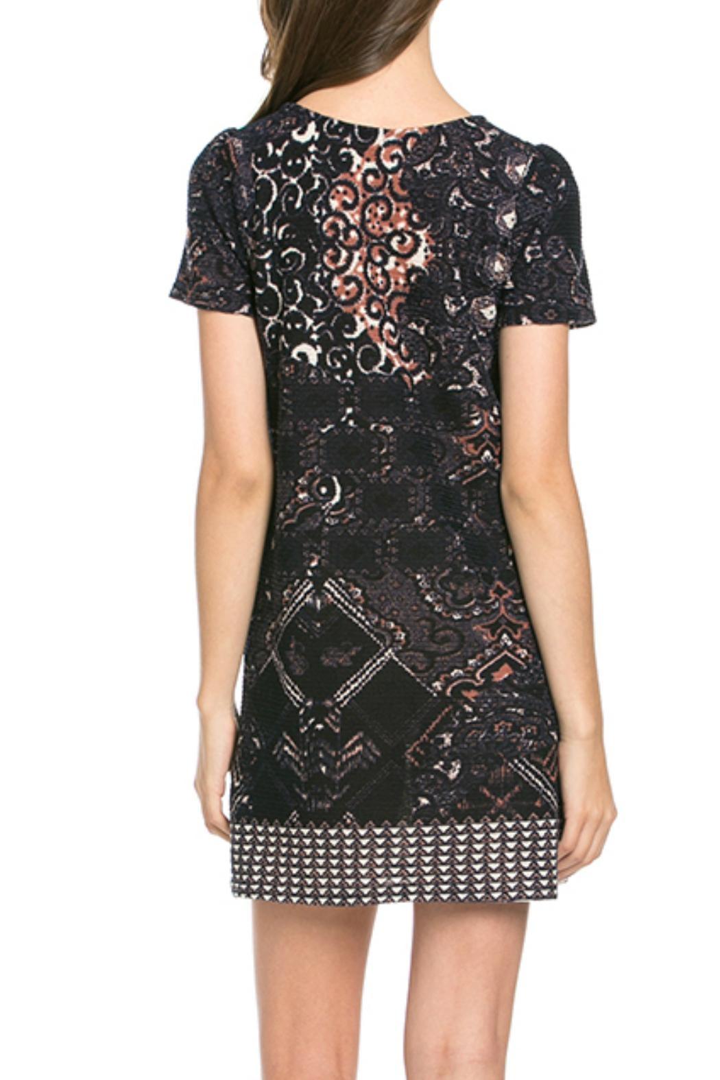 Mittoshop Print Shift Dress - Front Full Image