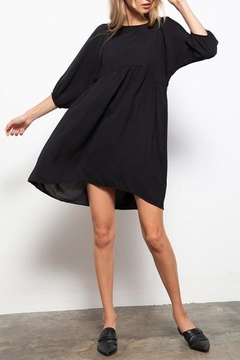 Shoptiques Product: Puff-Sleeve Babydoll Dress