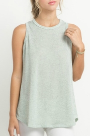 Mittoshop Ribbed Knit Tank - Front cropped