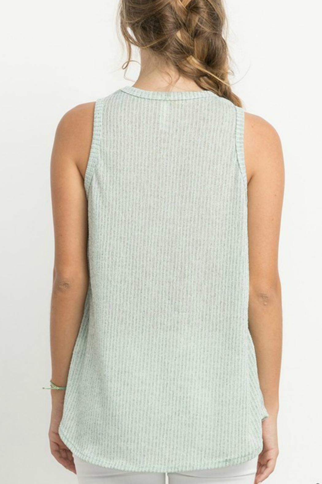 Mittoshop Ribbed Knit Tank - Front Full Image