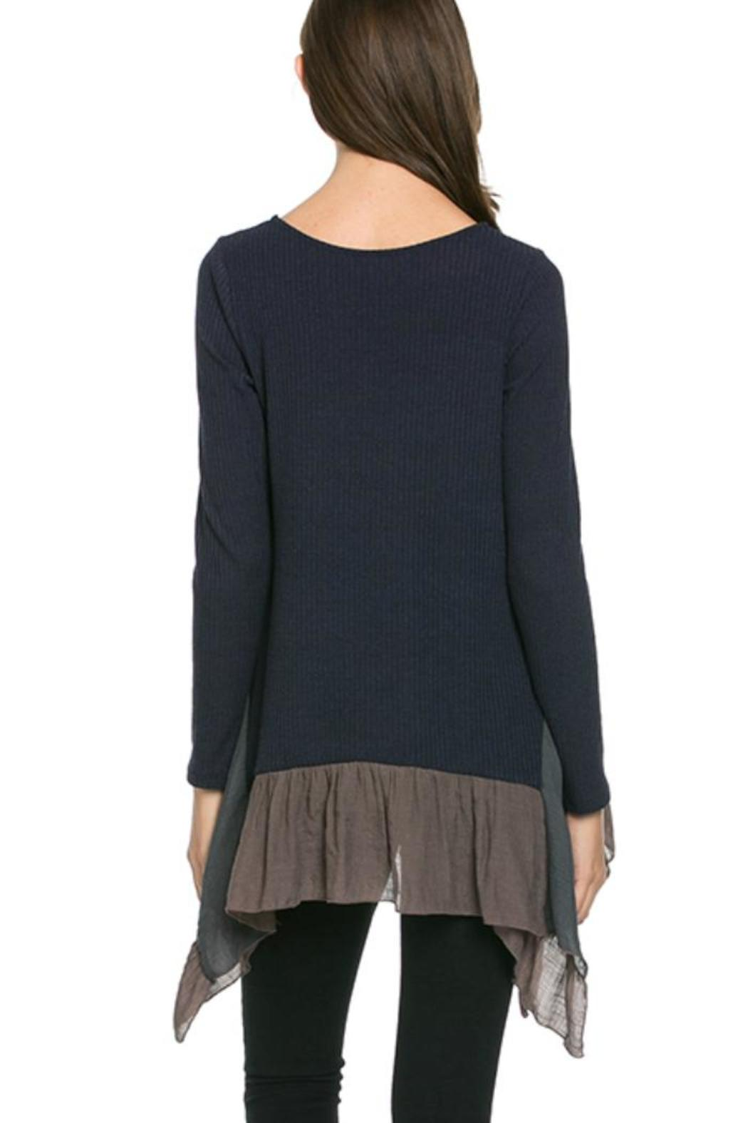 Mittoshop Ribbed Layered Tunic from North Carolina by Southern ...