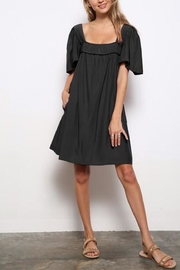 Mittoshop Square-Neckline Tunic Dress - Front cropped