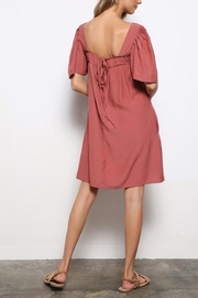 Mittoshop Square-Neckline Tunic Dress - Front full body
