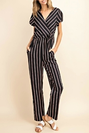 Mittoshop Striped Surpliced Jumpsuit - Product Mini Image