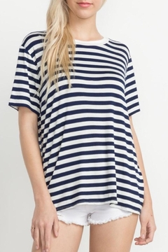 Mittoshop Striped Tee Top - Product List Image